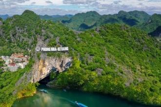 Á Hậu Vũ Hoàng My cùng các travel Blogger nổi tiếng trải nghiệm du lịch tại Phong Nha - Kẻ Bàng trong trạng thái bình thường mới